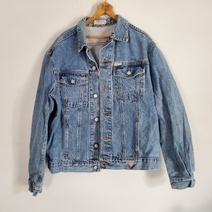 Vintage 1980s Guess denim Jean Jacket Marciano